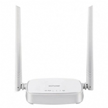 ROTEADOR WIRELESS RE160V 300MBPS IPV6 A ANT FIXAS MULTILASER - RE160V